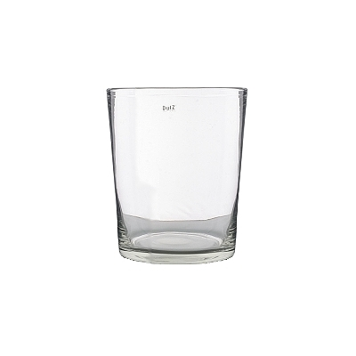 DutZ®-Collection Vase Conic, H 17  x  Ø.15 cm, Farbe: Klar