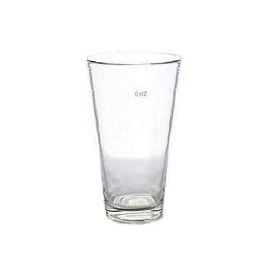 Collection DutZ ®  vase Conic, h 27 x Ø 16 cm, Colori: transparent
