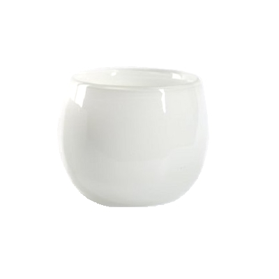 Collection DutZ ® vase/récipient Pot, h 18 x Ø 20 cm, Colori: blanc