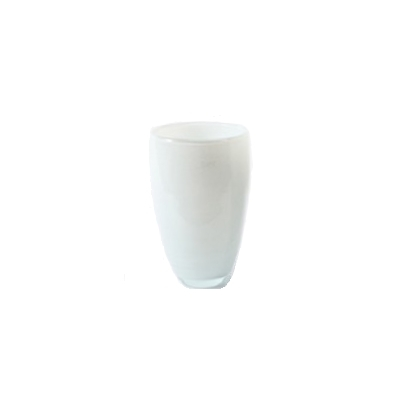 DutZ®-Collection Flower Vase, h 26 x Ø 16 cm, colour: white