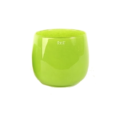 DutZ®-Collection Vase Pot, h 18 x Ø 20 cm, colour: lime