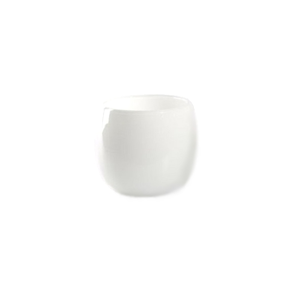 DutZ®-Collection Vase Pot, H 11 x Ø 13 cm, Farbe: Weiß