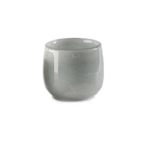 DutZ®-Collection Vase Pot, H 14 x Ø 16 cm, Farbe: Mittelgrau