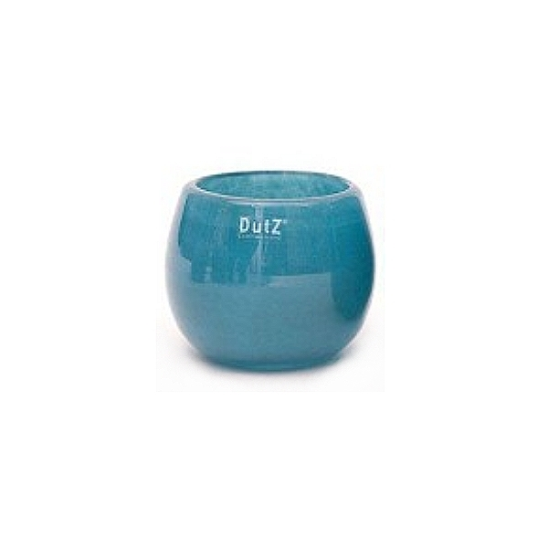Collection DutZ ® vase/récipient Pot, h 11 x Ø 13 cm, Colori: petrol bleu