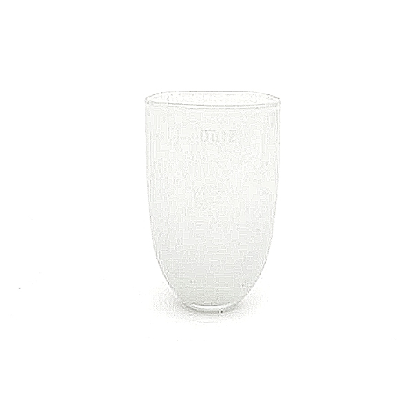 DutZ®-Collecdion Vase Oval, small, h 16 x w 11 x d 8 cm, color: white