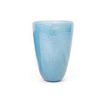 Collection DutZ ®  Vase, h 32 cm x Ø 21 cm, Colori: bleu petrol