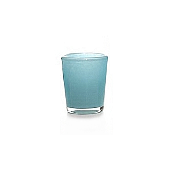 Collection DutZ ®  vase Conic, h 14 x Ø 12 cm, Colori: bleu petrol