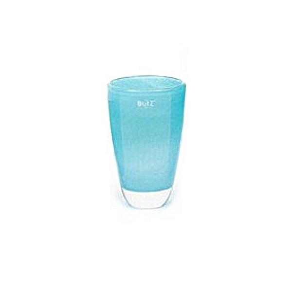 DutZ®-Collection Flower Vase, h 21 x Ø 13 cm, aqua