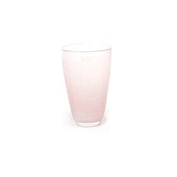 DutZ®-Collection Flower Vase, h 21 x Ø 13 cm, pink