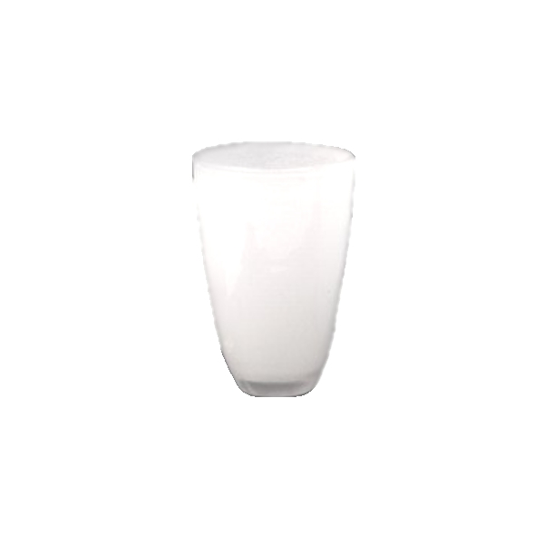 Collection DutZ ®  Vase, h 21 cm x Ø 13 cm, blanc
