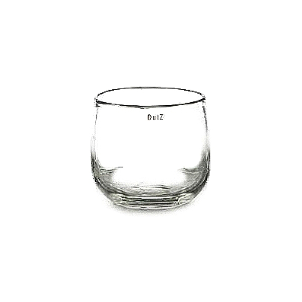 DutZ®-Collection Vase Pot, h 11 x Ø 13 cm, clear