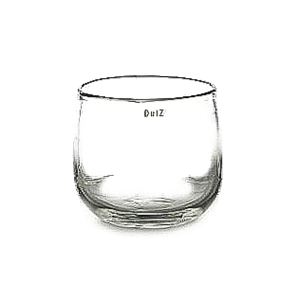 Collection DutZ ® vase/récipient Pot, h 18 x Ø 20 cm, transparent