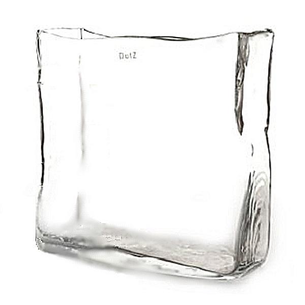 DutZ®-Collection Vase oblong, L 30 x h 30 x T 12 cm, clear