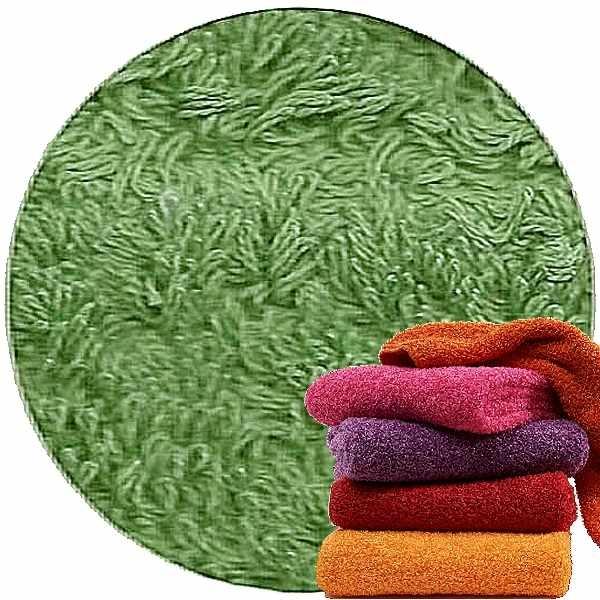 Abyss & Habidecor Super Pile Frottee-Gäste-Handtuch, 30 x 50 cm, 100% ägyptische Giza 70 Baumwolle, 700g/m², 205 Forest