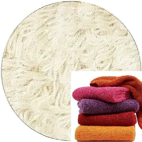 Abyss & Habidecor Super Pile Frottee-Gäste-Handtuch, 30 x 50 cm, 100% ägyptische Giza 70 Baumwolle, 700g/m², 610 Nude