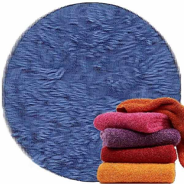Abyss & Habidecor Super Pile Frottee-Gäste-Handtuch, 30 x 50 cm, 100% ägyptische Giza 70 Baumwolle, 700g/m², 304 Marina