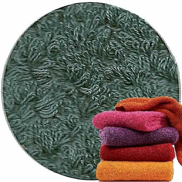 Abyss & Habidecor Super Pile Frottee-Gäste-Handtuch, 30 x 50 cm, 100% ägyptische Giza 70 Baumwolle, 700g/m², 306 Bluestone