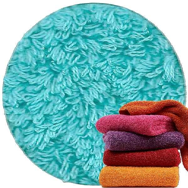 Abyss & Habidecor Super Pile Terry Cloth Guest Towel, 30 x 50 cm, 100% Egyptian Giza 70 Cotton, 700g/m², 370 Turqoise