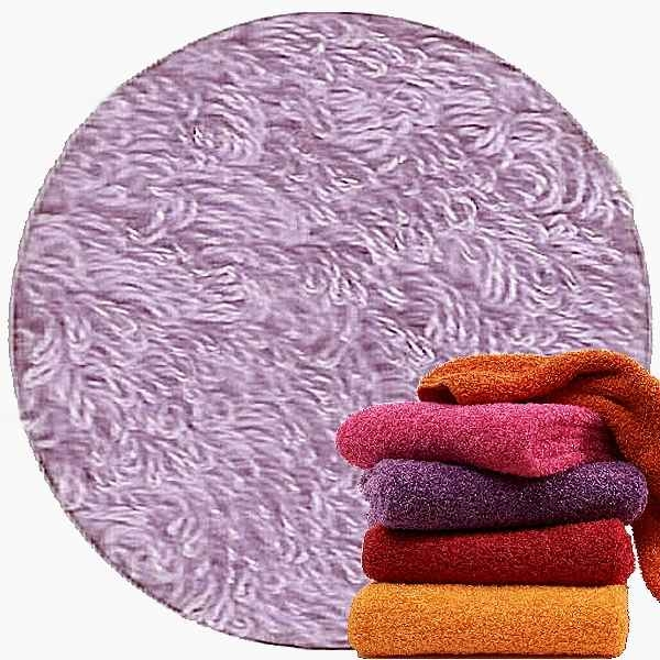 Abyss & Habidecor Super Pile Terry Cloth Guest Towel, 30 x 50 cm, 100% Egyptian Giza 70 Cotton, 700g/m², 430 Lupin