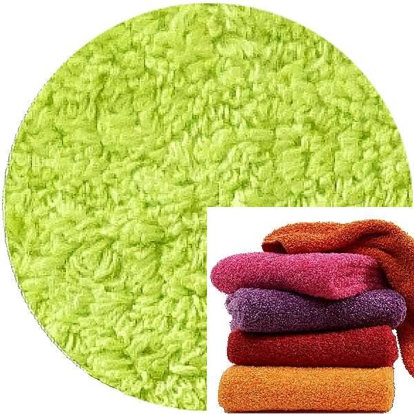 Abyss & Habidecor Super Pile Frottee-Handtuch, 55 x 100 cm, 100% ägyptische Giza 70 Baumwolle, 700g/m², 231 Lime Green