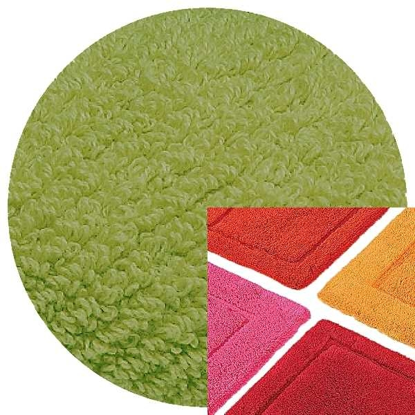 Abyss & Habidecor Bath Mat Must, 50 x 80 cm, 100% Egyptian Combed Cotton, 165 Apple Green