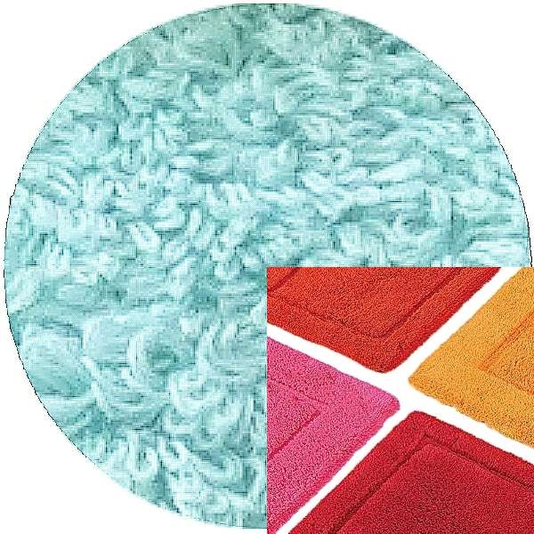 Abyss & Habidecor Bath Mat Must, 50 x 80 cm, 100% Egyptian Combed Cotton, 235 Ice