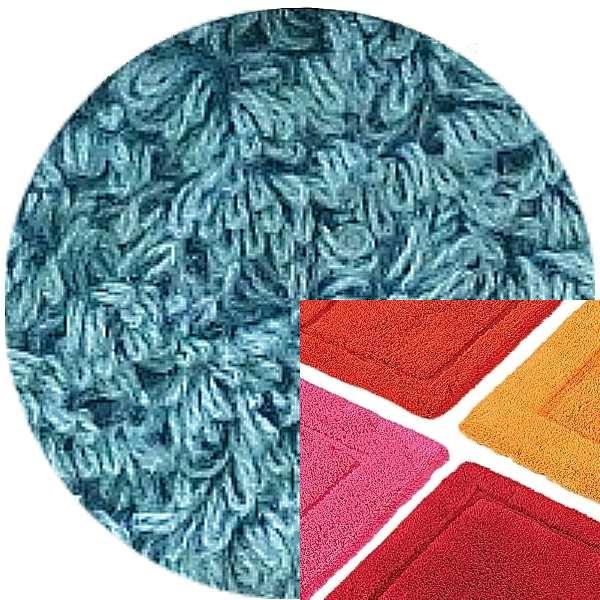 Abyss & Habidecor Bath Mat Must, 50 x 80 cm, 100% Egyptian Combed Cotton, 309 Atlantic