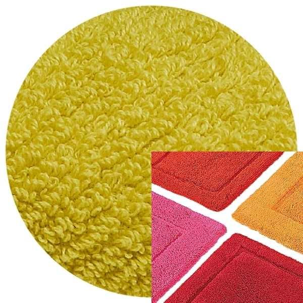 Abyss & Habidecor Badematte Must, 50 x 80 cm, 100% ägyptische Baumwolle, gekämmt, 211 Citronelle