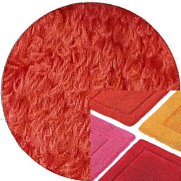 Abyss & Habidecor Badematte Must, 50 x 80 cm, 100% ägyptische Baumwolle, gekämmt, 556 Cayenne