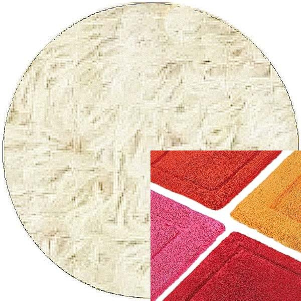 Abyss & Habidecor Badematte Must, 50 x 80 cm, 100% ägyptische Baumwolle, gekämmt, 610 Nude