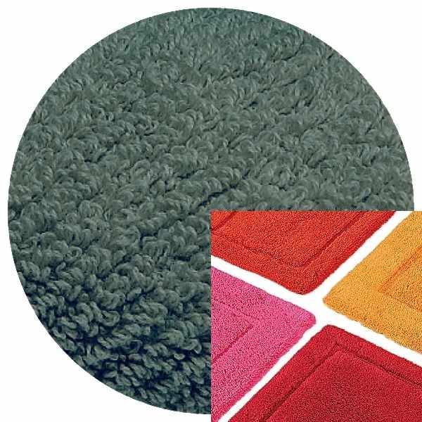 Abyss & Habidecor Badematte Must, 50 x 80 cm, 100% ägyptische Baumwolle, gekämmt, 306 Bluestone
