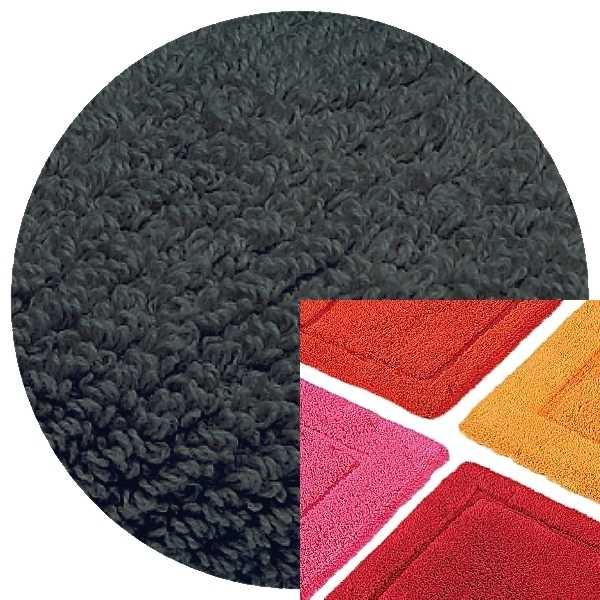 Abyss & Habidecor Badematte Must, 50 x 80 cm, 100% ägyptische Baumwolle, gekämmt, 307 Denim