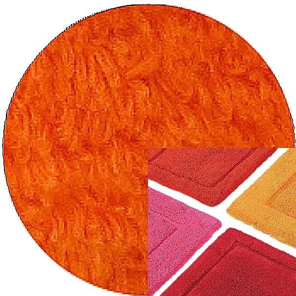 Abyss & Habidecor Bath Mat Must, 50 x 80 cm, 100% Egyptian Combed Cotton, 611 Vibrant