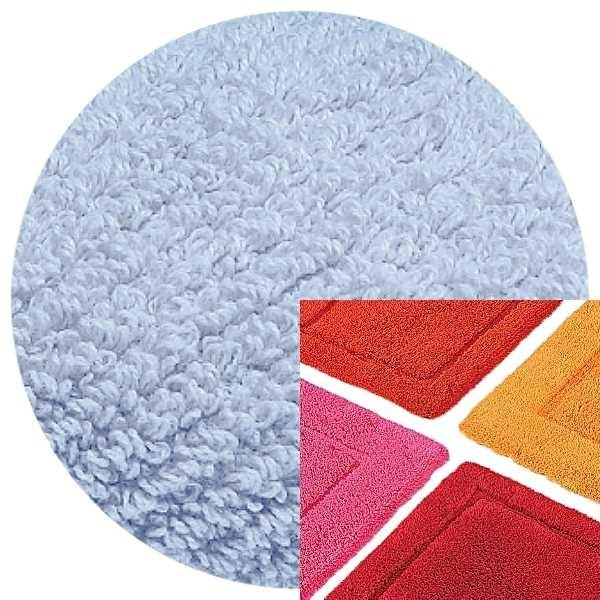 Abyss & Habidecor Bath Mat Must, 50 x 80 cm, 100% Egyptian Combed Cotton, 330 Powder Blue