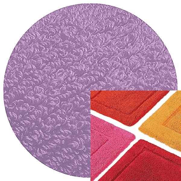 Abyss & Habidecor Badematte Must, 50 x 80 cm, 100% ägyptische Baumwolle, gekämmt, 430 Lupin