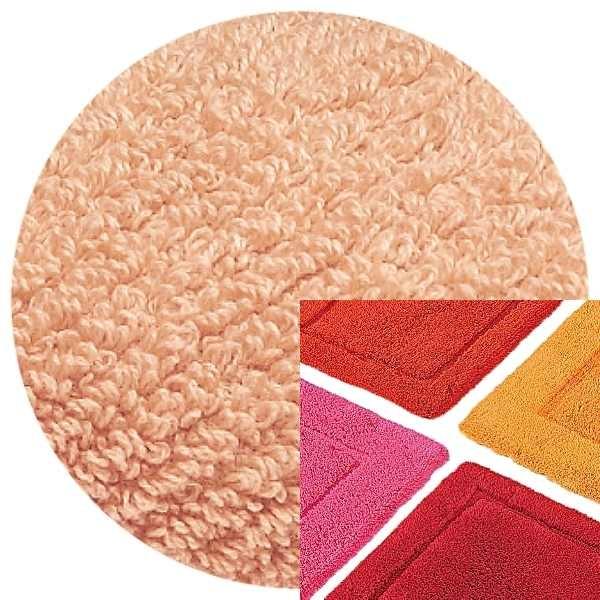 Abyss & Habidecor Badematte Must, 50 x 80 cm, 100% ägyptische Baumwolle, gekämmt, 501 Pink Lady
