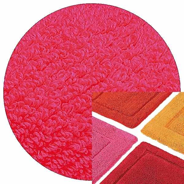 Abyss & Habidecor Bath Mat Must, 50 x 80 cm, 100% Egyptian Combed Cotton, 570 Happy Pink