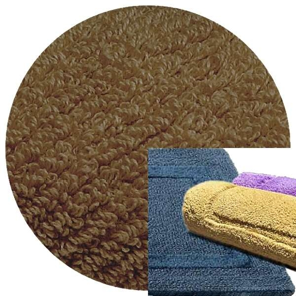 Abyss & Habidecor Bath Mat Must, 50 x 80 cm, 100% Egyptian Combed Cotton, 771 Funghi