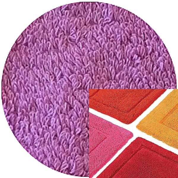 Abyss & Habidecor Bath Mat Must, 50 x 80 cm, 100% Egyptian Combed Cotton, 585 Crocus