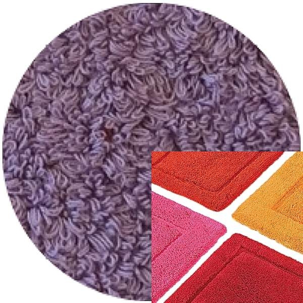 Abyss & Habidecor Bath Mat Must, 50 x 80 cm, 100% Egyptian Combed Cotton, 440 Orchid