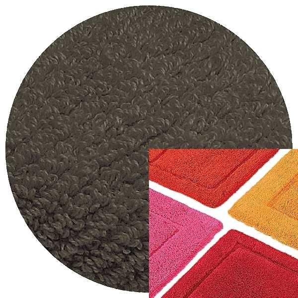 Abyss & Habidecor Badematte Must, 50 x 80 cm, 100% ägyptische Baumwolle, gekämmt, 920 Gris