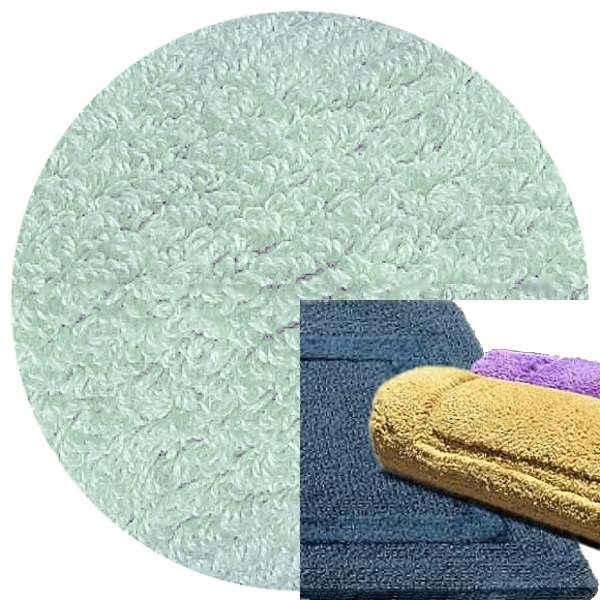 Abyss & Habidecor Bath Mat Reversible, 50 x 80 cm, 100% Egyptian Combed Cotton, 305 Crystal