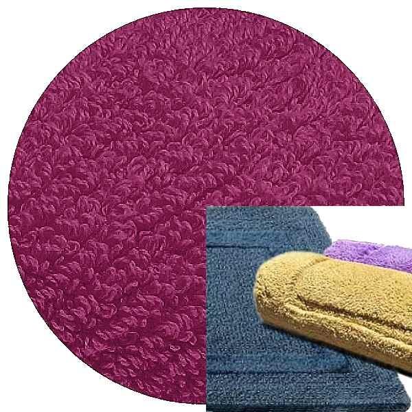 Abyss & Habidecor Bath Mat Reversible, 50 x 80 cm, 100% Egyptian Combed Cotton, 535 Confetti
