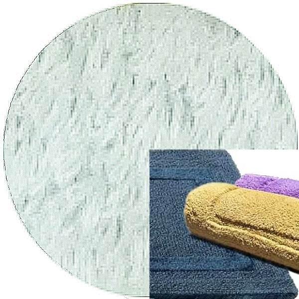 Abyss & Habidecor Badematte Reversible, 50 x 80 cm, 100% ägyptische Baumwolle, gekämmt, 930 Perle