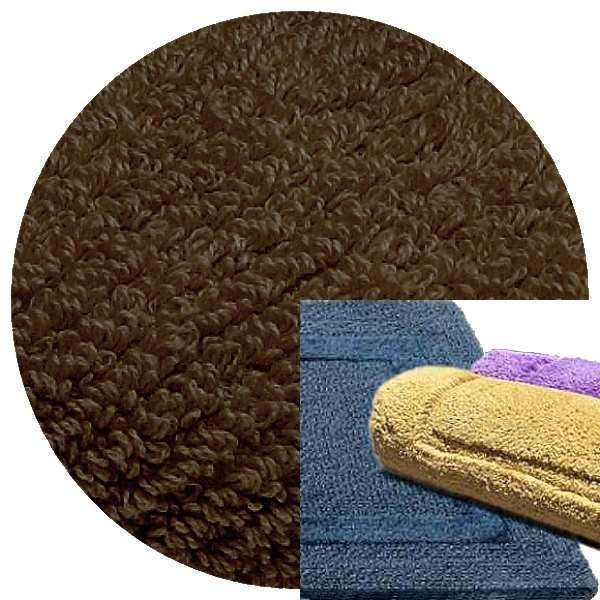 Abyss & Habidecor Bath Mat Reversible, 50 x 80 cm, 100% Egyptian Combed Cotton, 773 Pepper