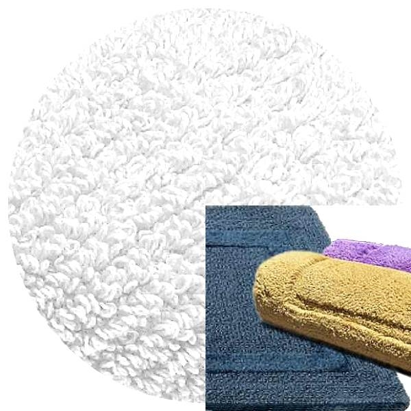 Abyss & Habidecor Bath Mat Reversible, 60 x 100 cm, 100% Egyptian Combed Cotton, 100 White
