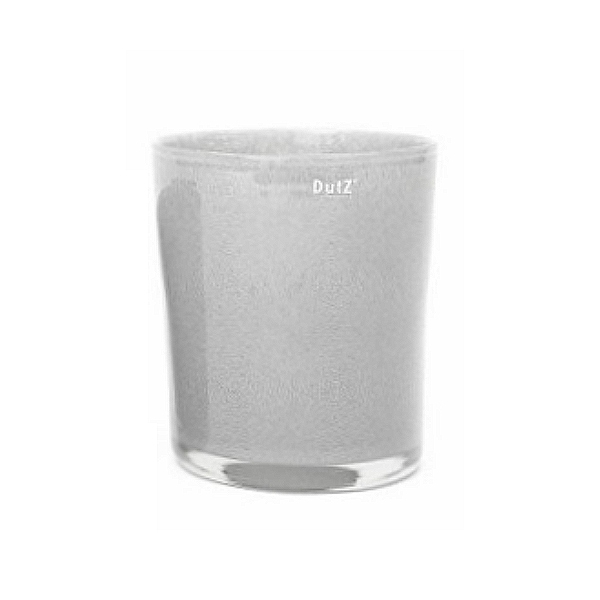 Collection DutZ ®  vase Conic, h 23 x Ø 20 cm, gris moyen