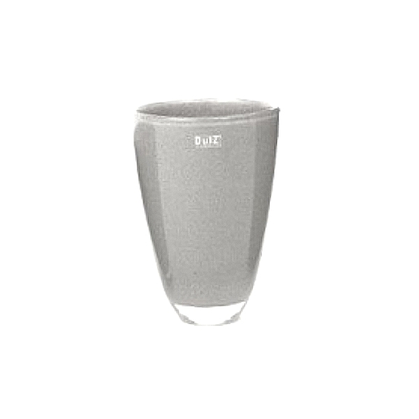 Collection DutZ ®  Vase, h 26 cm x Ø 16 cm, gris moyen