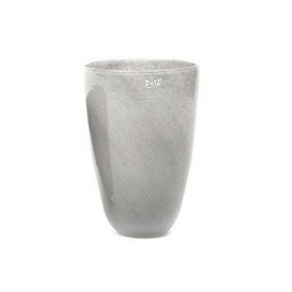 Collection DutZ ®  Vase, h 32 cm x Ø 21 cm, gris moyen
