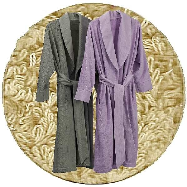 Abyss & Habidecor Amigo Bath Robe, 100% Egyptian Giza 70 cotton, 400 g/m², Size M, 770 Linen